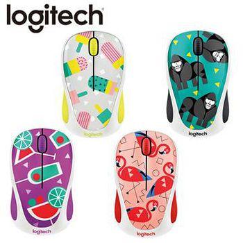 Logitech 羅技 logitech 羅技 M238 無線滑鼠 甜心冰棒 / 火鶴 / 大猩猩 / 雞尾酒