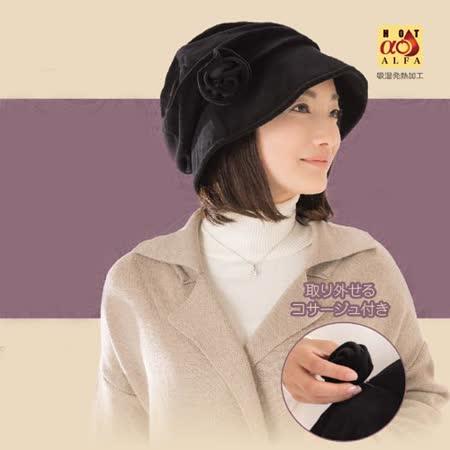 日本(SUNFAMILY) 發熱保暖時尚小臉帽