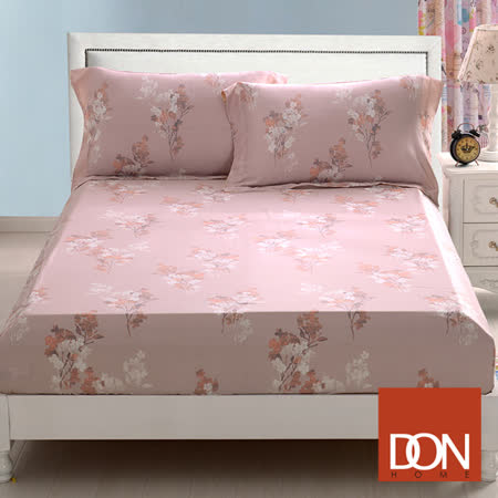 《DON 邂逅花期》雙人親膚柔潤天絲床包枕套三件組