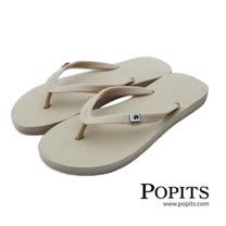 美國POPITS時尚平底夾腳拖 - 沙色