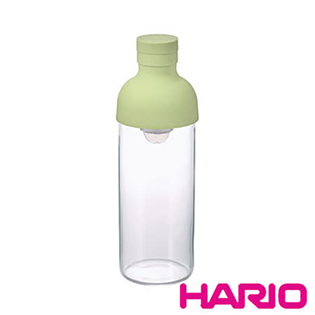 【HARIO】酒瓶淺綠色冷泡茶壺300ml FIB-30-PG