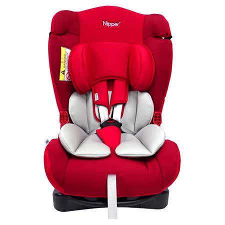 Nipper 0-7歲兒童汽車安全座椅(藍/紅)