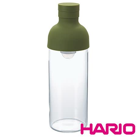 【HARIO】酒瓶綠色冷泡茶壺300ml FIB-30-OG