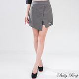【Betty Boop貝蒂】不規則前開衩短褲裙(共二色)