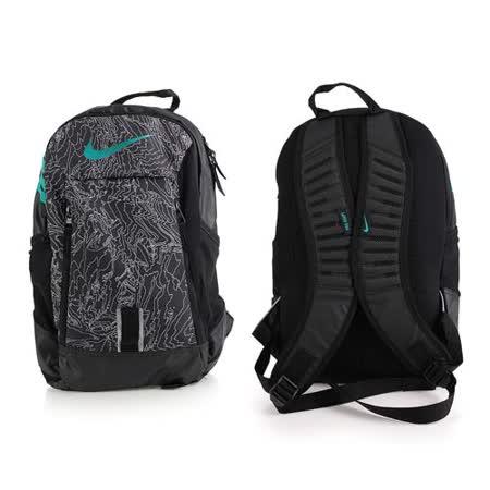 NIKE 後背包-雙肩包 旅行包 17吋筆電 黑灰 F