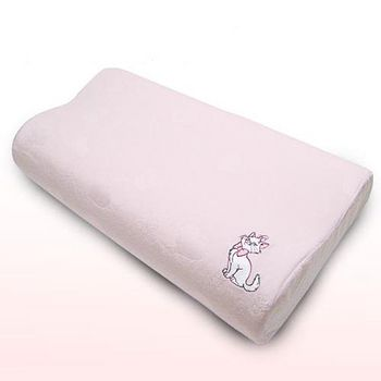 迪士尼 Marie瑪莉貓薰衣草香氛舒眠記憶枕 (大)