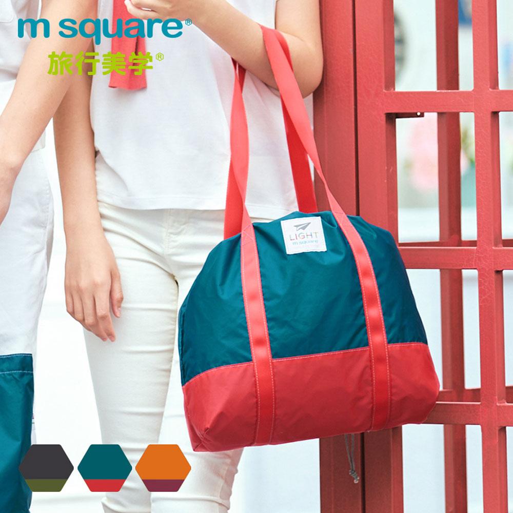 m square輕量摺疊束口 袋