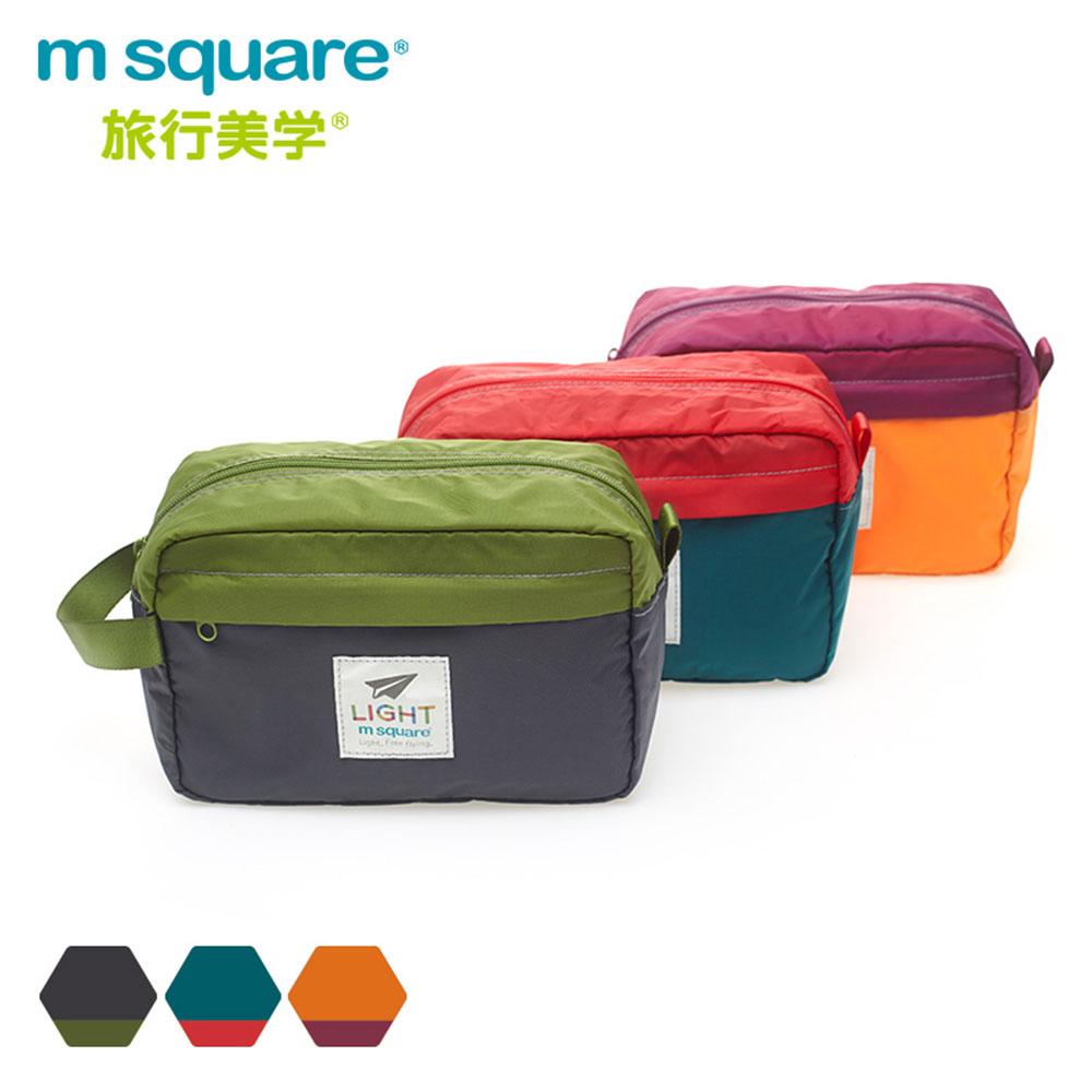 m square輕量手提收納包