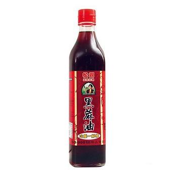 【松鼎】正宗北港100%黑麻油11瓶(贈苦茶油1瓶)