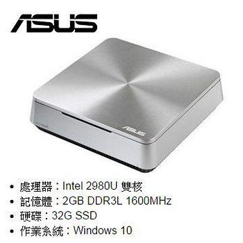 ASUS 華碩 VIVO PC VM42-2986UEA 雙核 Win10迷你電腦 .