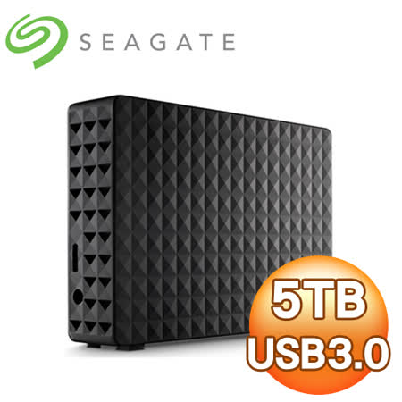 Seagate 希捷 新黑鑽 5TB 3.5吋 USB3.0 外接式硬碟《黑》