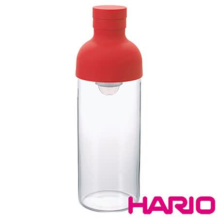 【HARIO】酒瓶紅色冷泡茶壺300ml FIB-30-R