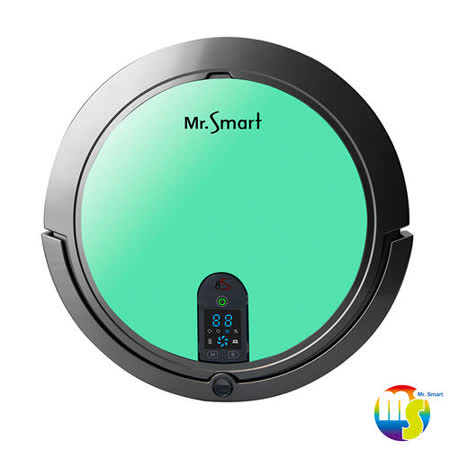 【Mr.Smart】8S 8倍高速氣旋移動吸塵掃地機器人- 文青草綠(送益菌潔居家清潔濃縮液(原味) 3入組 )