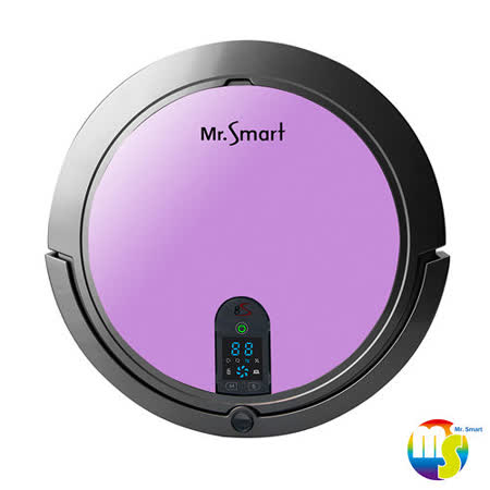 【Mr.Smart】8S 8倍高速氣旋移動吸塵掃地機器人- 羅蘭花紫(送益菌潔居家清潔系列 居家清潔濃縮液(原味) 3入組 )