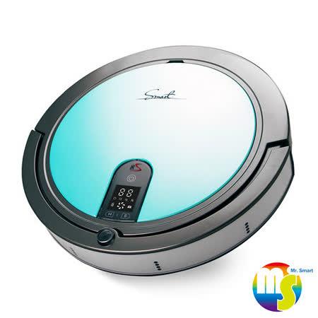 【Mr.Smart】8S 8倍高速氣旋移動吸塵掃地機器人- 蒂芬妮藍 (送益菌潔居家清潔系列 居家清潔濃縮液(原味) 3入組 )