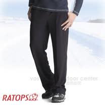 【瑞多仕-RATOPS-秋冬特賣】竹碳吸排保暖褲(素色) / 輕爽.舒適.蓄熱保溫.吸濕排汗. DB5529 墨藍色