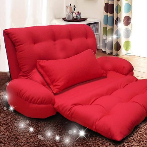 KOTAS 凱特扶手沙發床椅 單人 單人沙發床 沙發椅 ^(紅咖藍紫^)