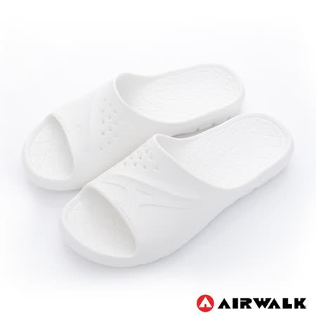 AIRWALK - AB拖 For your JUMP 超彈力防水輕量EVA拖鞋 - 簡潔白