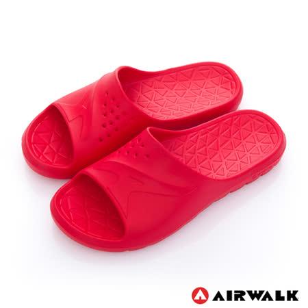 AIRWALK - AB拖 For your JUMP 超彈力防水輕量EVA拖鞋 - 魅惑紅