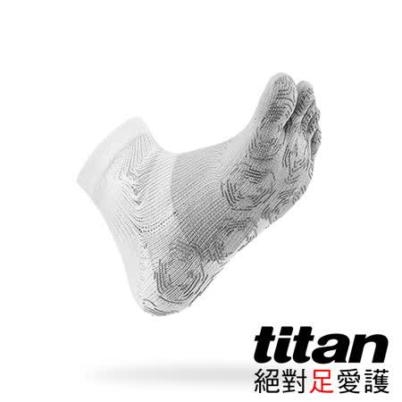 Titan 五趾功能慢跑襪[白/灰]
