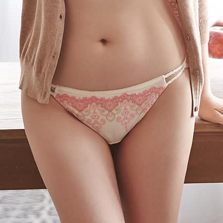 【蕾黛絲】高脅邊真水-低腰內褲 M-L(海貝橘)