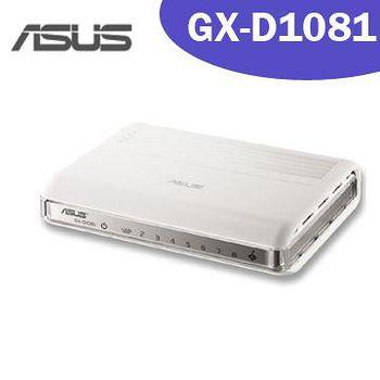 ASUS 華碩 GX-D1081 8埠節能網路交換器