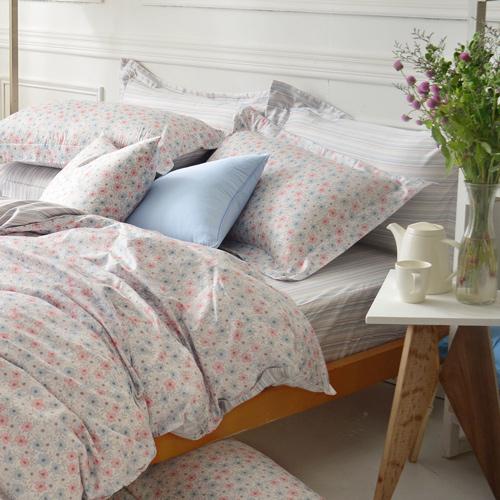 IN HOUSE~Cotswolds~300織精梳棉~四件式薄被床包組 雙人