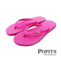 美國POPITS時尚平底夾腳拖 - 桃色