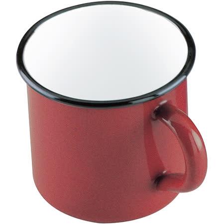 《IBILI》Roja琺瑯馬克杯(紅10cm)