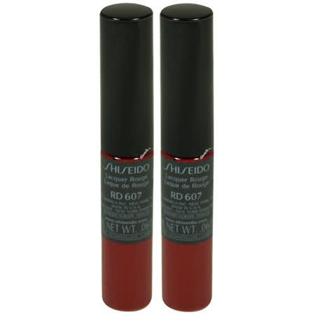 [即期品]SHISEIDO資生堂 尚質色繪 尚質瓷釉蜜唇膏(2ml*2)#RD607-2017.5