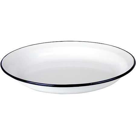 《IBILI》Blanca琺瑯餐盤(22cm)
