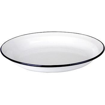 《IBILI》Blanca琺瑯餐盤(23cm)
