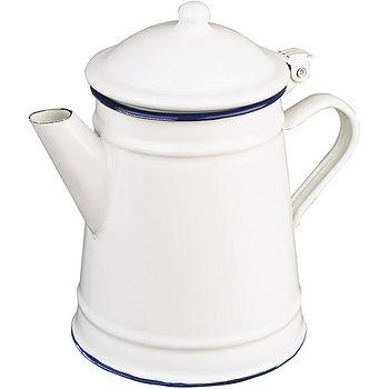 《IBILI》Blanca琺瑯過濾咖啡壺(1L)