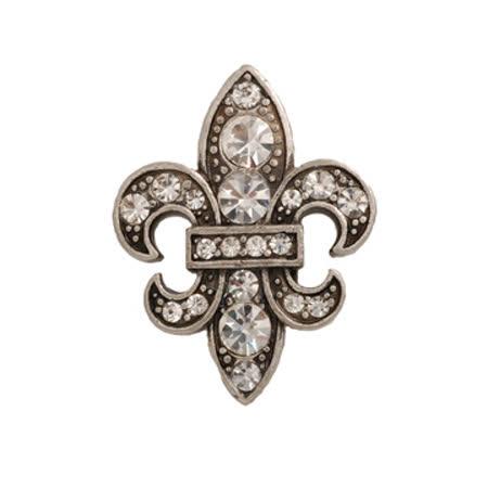 POPITS水晶盾牌扣飾 - 鐵灰色