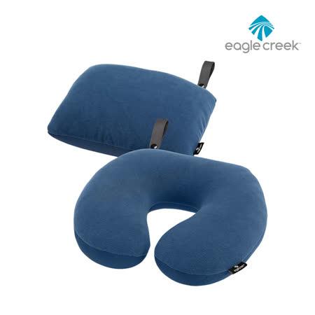 Eagle Creek 兩用fleece舒適頸枕ECP41178 / 城市綠洲 (U型枕.靠枕.旅遊.午睡.坐車.飛機上使用)