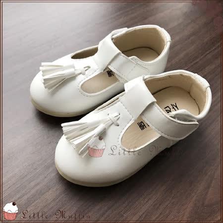 氣質流蘇皮質瑪莉珍公主鞋/娃娃鞋/花童鞋/禮服鞋 止滑膠底外出鞋