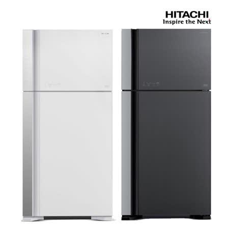 HITACHI日立570公升變頻琉璃面板雙門冰箱RG599
