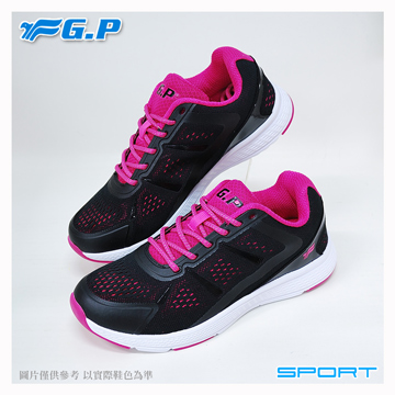~G.P 輕量 鞋~P7618W~15 黑桃色 ^(SIZE:36~40 共三色^)