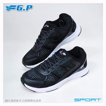 ~G.P 輕量 鞋~P7618W~17 黑灰色 ^(SIZE:36~40 共三色^)