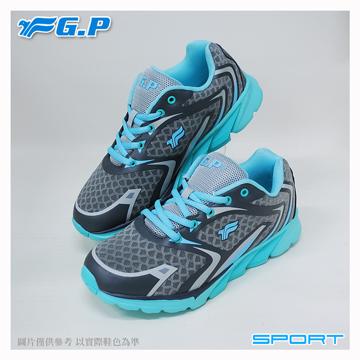 ~G.P 輕量 鞋~P7619W~21 水藍色 ^(SIZE:36~40 共三色^)