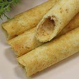 【蔡技食品】黑糖花生夾心手工蛋捲(2入/包)