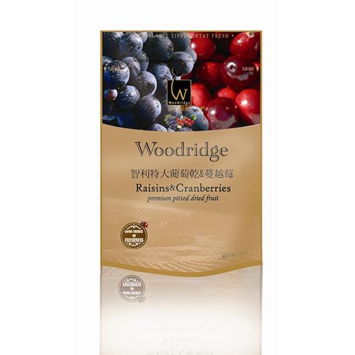 森之果物 葡萄乾 蔓越莓350g