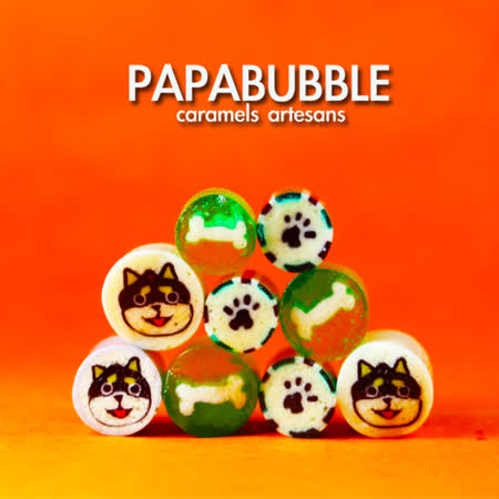 Papabubble-西班牙手工糖(黑柴犬、袋裝、60g)