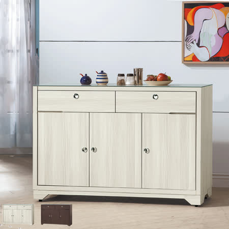 HAPPYHOME 志耀4尺餐餐櫃UZ6-347-1+2兩色可選
