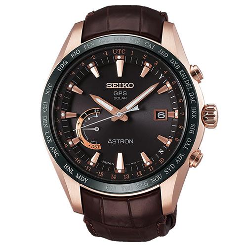 SEIKO 精工 ASTRON GPS 鈦金屬衛星太陽能電波腕錶45mm8X22~0AG0
