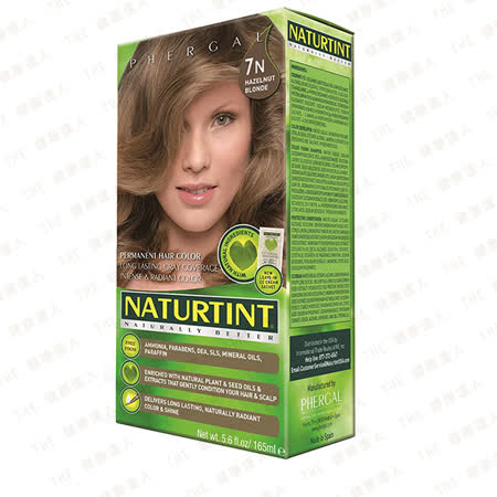 Naturtint 赫本植物性染髮劑*7N亞麻淺棕色