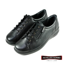 【Achilles SORBO】側邊拉鍊機能鞋/女鞋 黑色(SRL0520-BL)