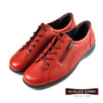【Achilles SORBO】側邊拉鍊機能鞋/女鞋 紅色(SRL0520-RB)