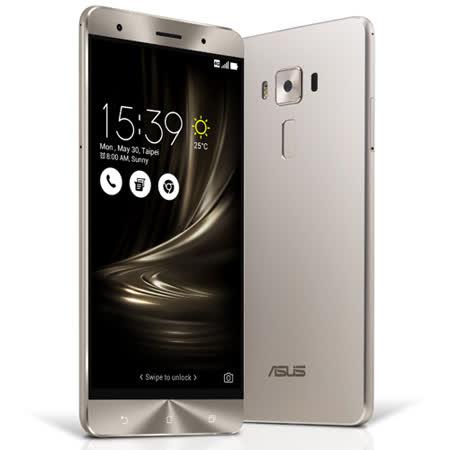 ASUS ZenFone 3 Deluxe (ZS570KL) 5.7吋4G全頻雙卡機(6G/64G版) (銀/金色)-【送ASUS原廠手機皮套+玻璃保護貼】