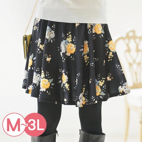 Portcros ~褲型內裡俏麗短裙^(共七色M~3L^)